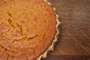 The lightest, fluffiest pumpkin pie you'll ever have, perfect for Thanksgiving or Christmas! #easy #homemade #fromscratch #pumpkin #pumpkinpie
