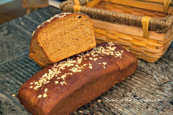 Part 4 of my 4 Part Tutorial on Whole Wheat Bread: the Grain Mill. #Wholewheatbread #recipe