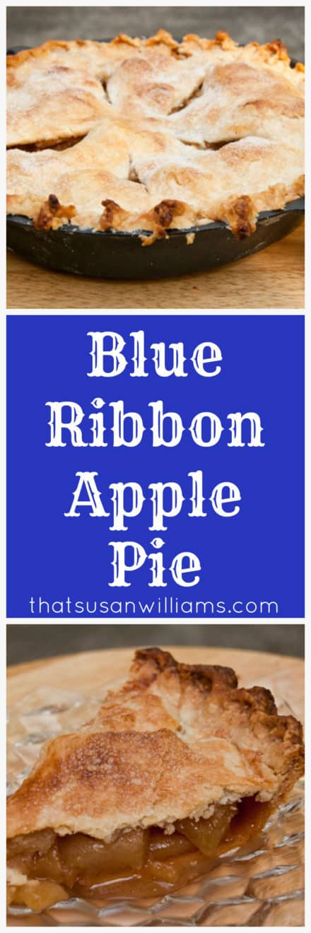 Blue Ribbon Apple Pie: Best Apple Pie Ever