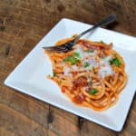 Best Pasta Ever: Perciatelli all'Amatriciana https://thatsusanwilliams.com