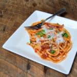 Best Pasta Ever: Perciatelli all'Amatriciana https://thatsusanwilliams.com
