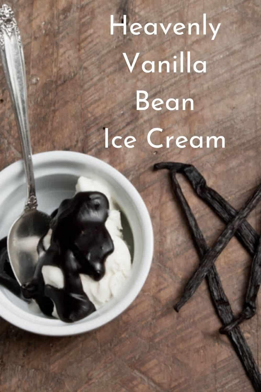 Heavenly Vanilla Bean Ice Cream