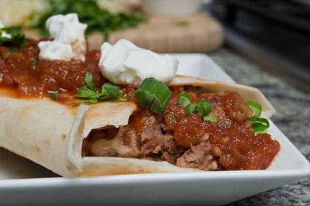 Lincoln Town Car Bean Burritos
