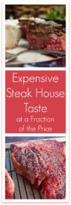 Do you love the kind of steak you find only at a steak house? This post has all the info you need to make that same quality steak at home!
