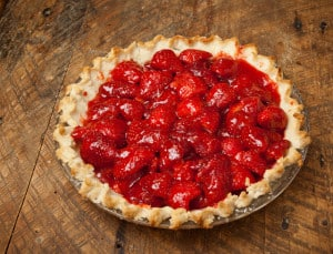 Springtime Fresh Strawberry Pie is the quintessential spring dessert, for me. Easy, and delicious!