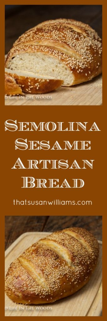 Semolina Sesame Artisan Bread