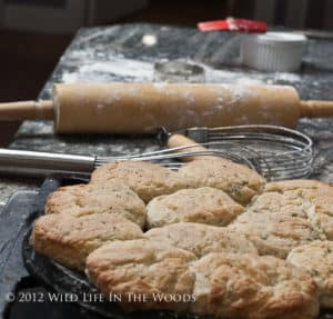 Buttermilk Biscuits with Chives and Black Pepper
