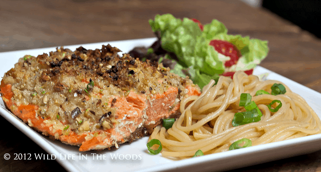 Pistachio Crusted Wild Salmon is not only unbelievably easy and delicious, it's also healthy, and beautiful. #healthy #fish #salmon #wildsalmon