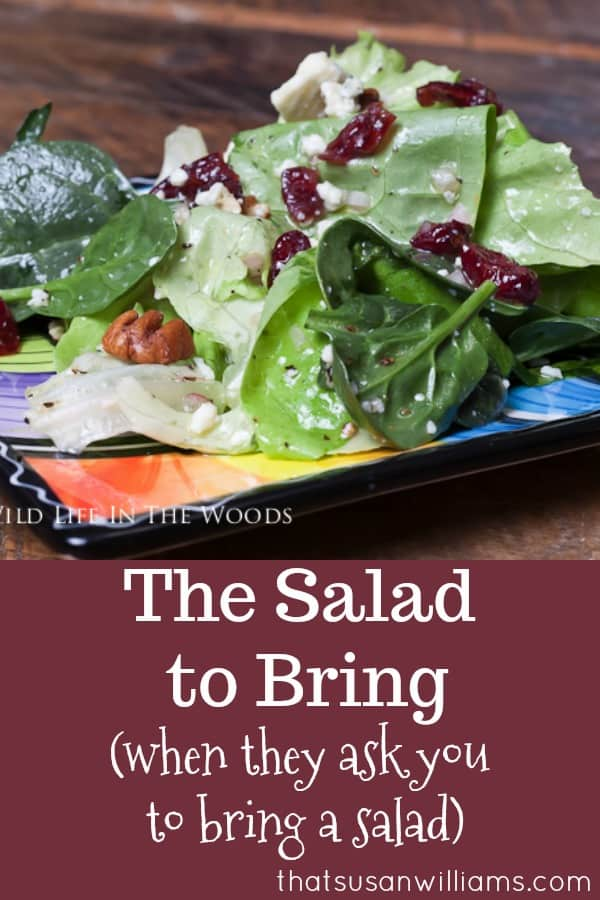 The Salad to Bring...when they ask you to bring a salad. #salad #potluck #saladrecipe