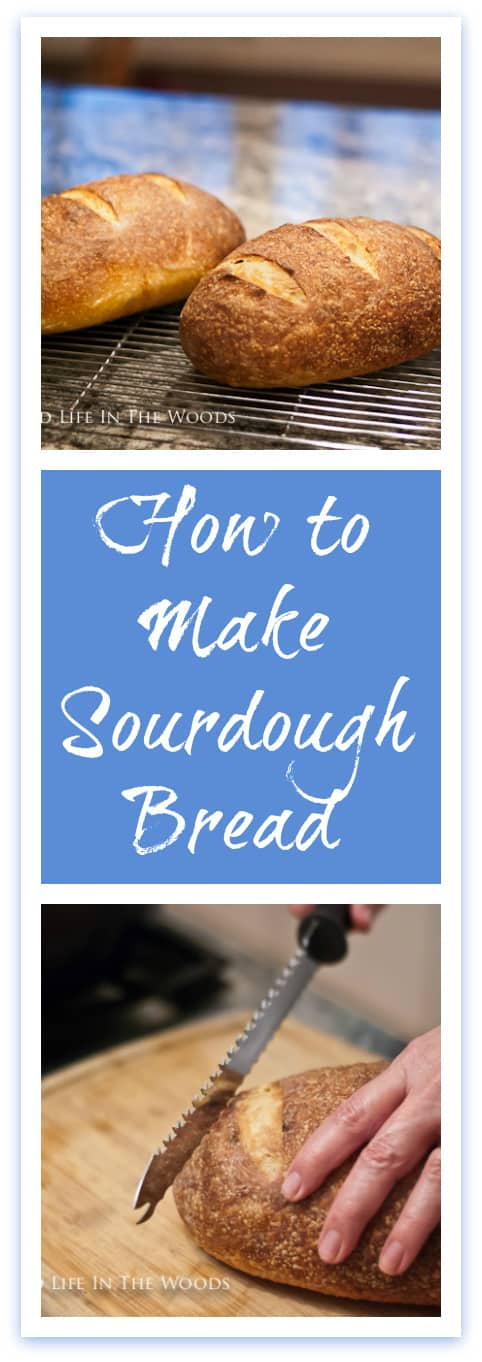 Here's the recipe you've been waiting for, in my series of 4 posts on How to Make Sourdough Bread: the RECIPE for how to make homemade sourdough bread.