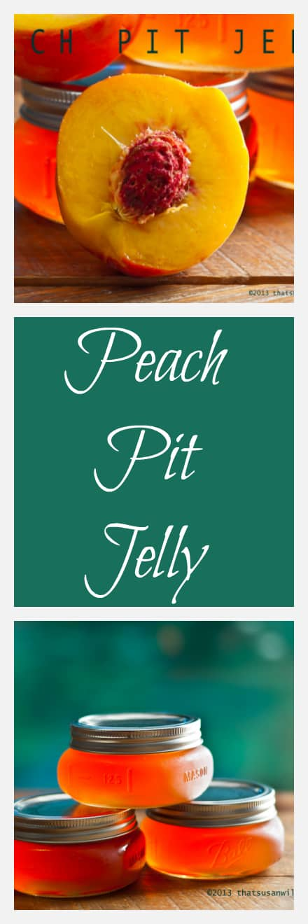Peach Pit Jelly has a delicious and delicate flavor that melts in your mouth.