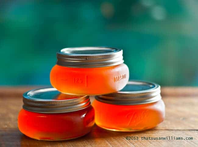 peachy jars of goodness