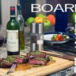 Board Dressing for Steaks: Board Dressing for Steaks is an innovative way to serve steak. The grilled meat is enhanced by a dressing you prepare for it, right on the cutting board.