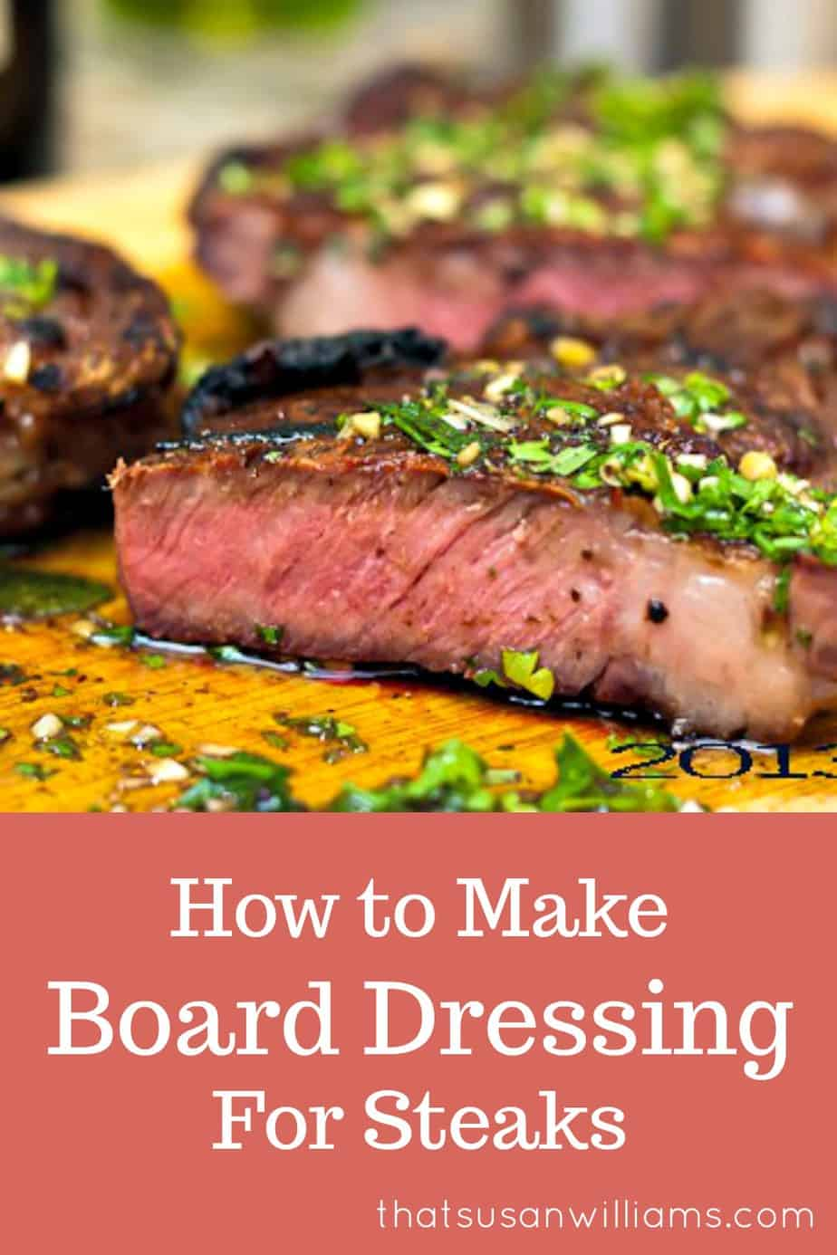 Board Dressing for Steaks