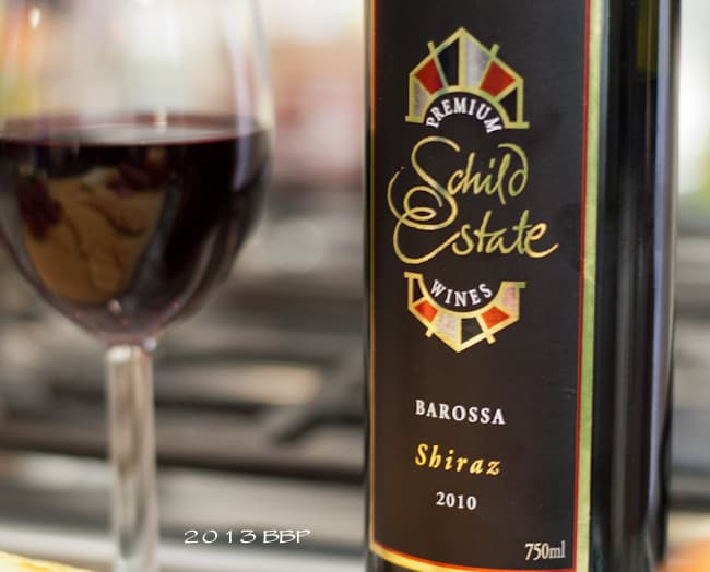 red wine Shiraz
