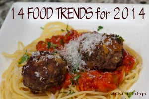 Fourteen Food Trends for 2014