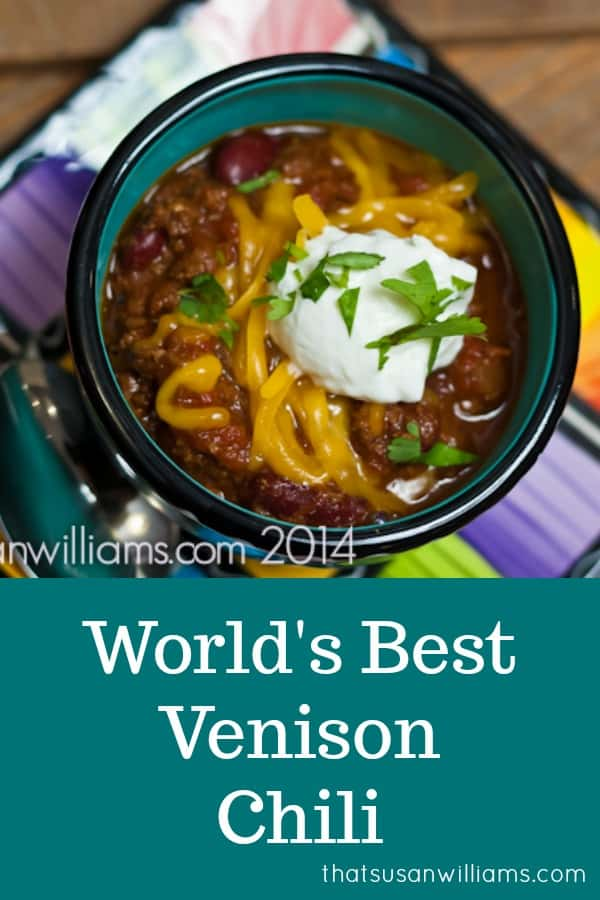 World's Best Venison Chili Recipe #venisonchili  #venison #chili #recipe #superbowl #best #worldsbest
