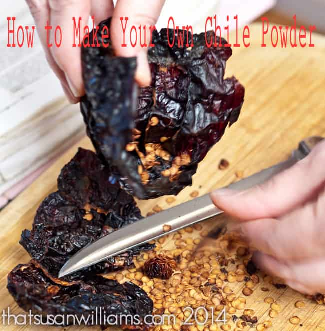 How to Make Your Own Chilie Powder