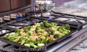 Oven Roasted Broccoli is a delicious side dish that you can prepare and roast in a flash!