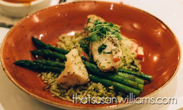 Pan-Seared Chilean Sea Bass: so yummy!