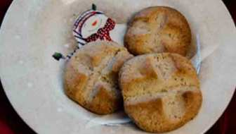 Curry Coriander Shortbread Cookies