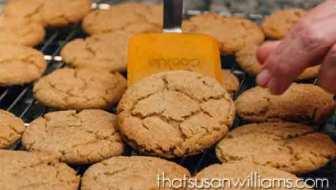 Browned Butter Brown Sugar Cookies