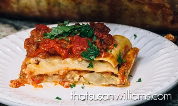 World's Best (and Easiest) Lasagna