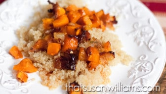 Bacon-Roasted Buttercup Squash with Rosemary Honey