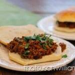 Sloppy Indian Joe Sandwich Recipe