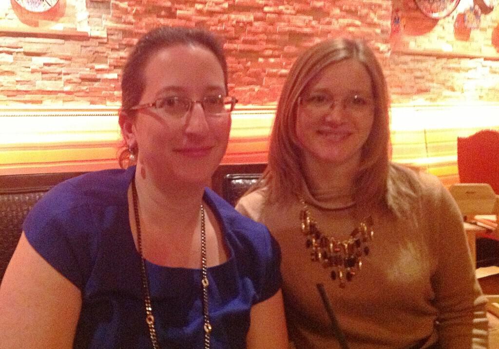 Debbie Bookstaber and Julia Robinson