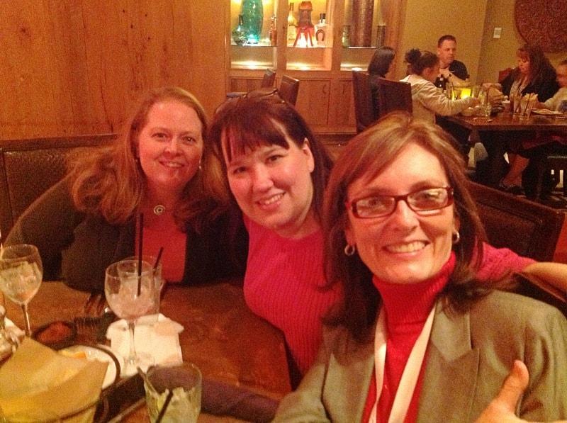 Malia, Anne and Teresa