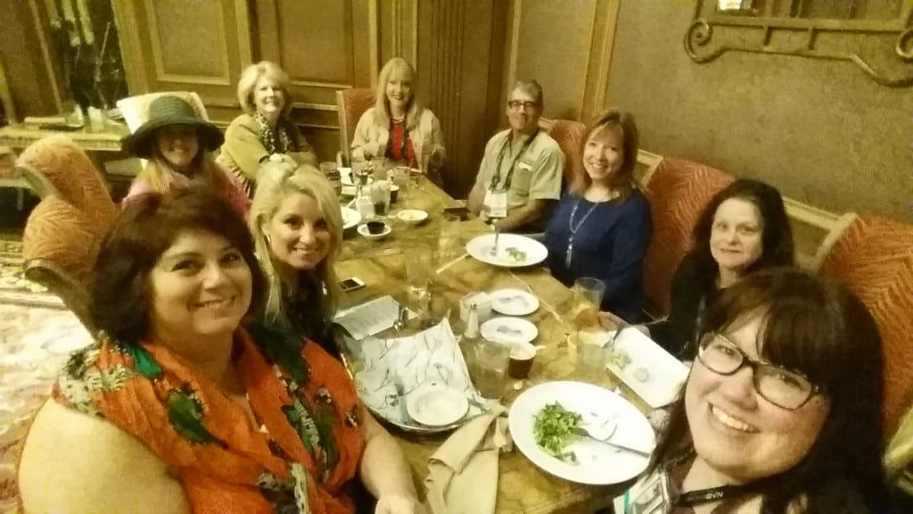 Lunch with Midlife'ers at NMX