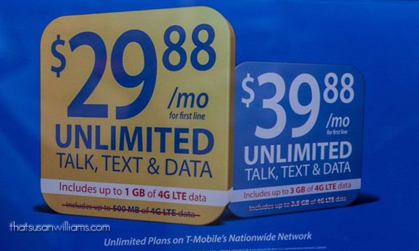 $29.88/mo with Unlimited Talk, Text and Data/Web