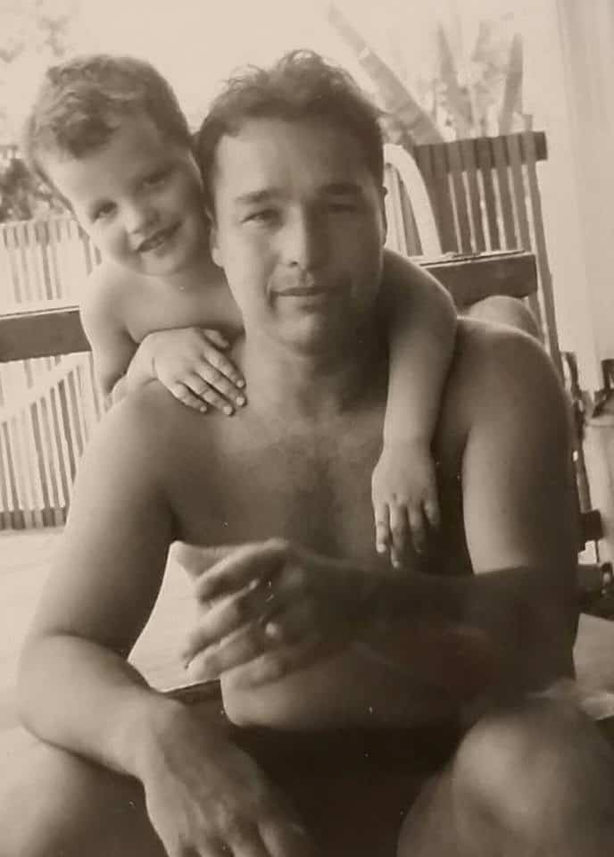Dave Wright and Dad