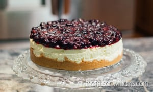 Berry Best Blueberry Cheesecake Recipe