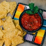 World's Best Oven Roasted Salsa