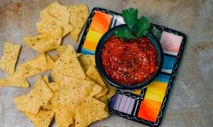 World's Best Oven Roasted Salsa is easy and delicious!