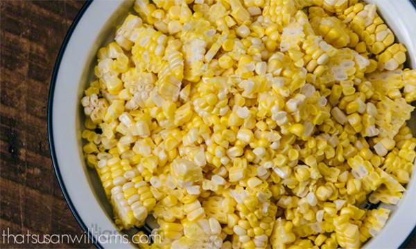 Fresh Corn, cut from the cob
