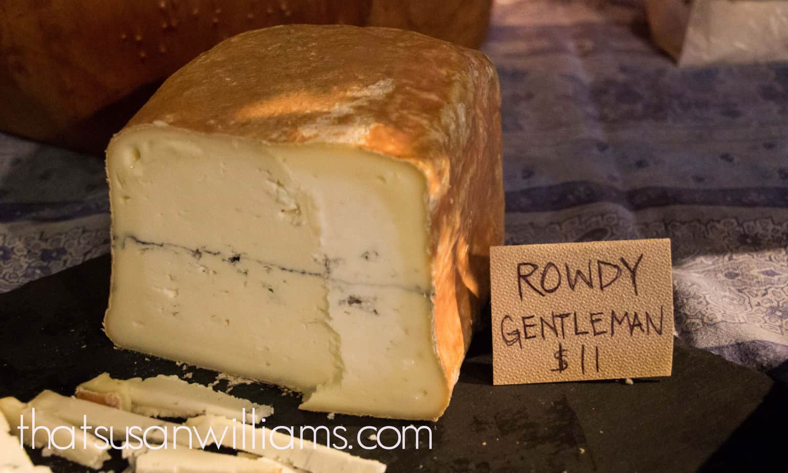 Rowdy Gentleman, a chèvre from Prodigal Farm