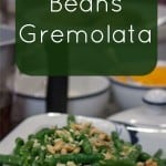 Green Beans Gremolata Recipe #greenbeans #sidedish