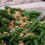 Green Beans Gremolata Recipe