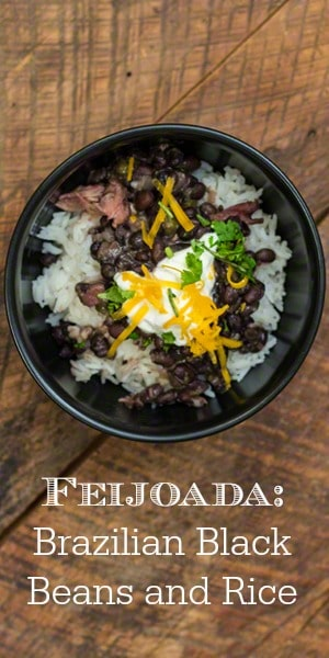 Feijoada Brazilian Black Beans and Rice Recipe. Feijoda is the National Dish of Brazil, so if you're looking for a frugal, budget friendly meal, look no further. With a great frugal money saving tip you've never thought of!