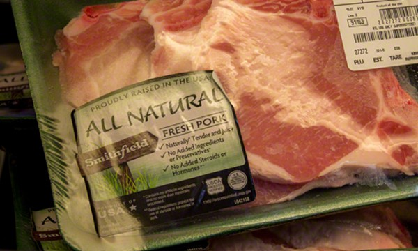 Smithfield All Natural Fresh Pork Chops