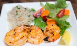 Easy-Peasy Spicy Grilled Shrimp #FreshFromFlorida, #IC, ad