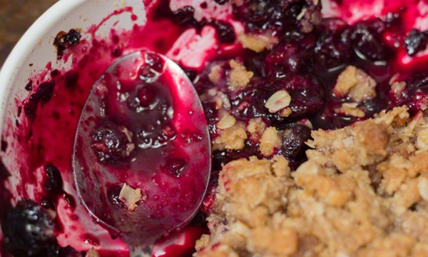 Easy Blueberry Crisp Recipe #easy #blueberry #crisp #recipe #crumble