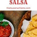World's Best Oven Roasted Salsa