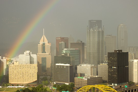 Rainbow over Pittsburgh