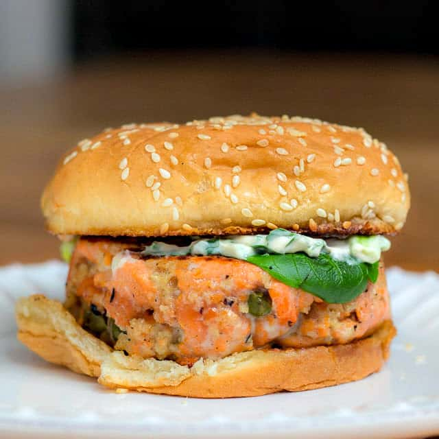 Wild Salmon Burger