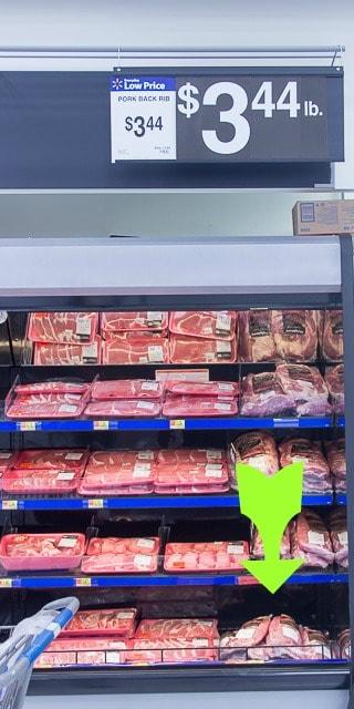 Smithfield Fresh Pork Spareribs at Walmart