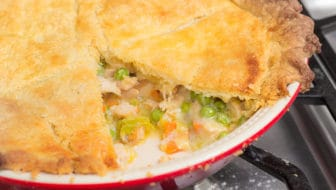 Best Way to Use Leftover Chicken: Tarragon Chicken Pot Pie